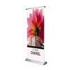 Freestanding Scrolling Banner Stand
